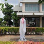 甲子園出場記念モニュメント完成除幕式